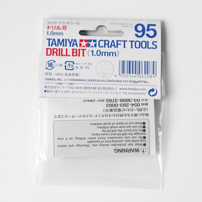 日本田宮TAMIYA|極細精密鑽頭1mm ( 74095 )