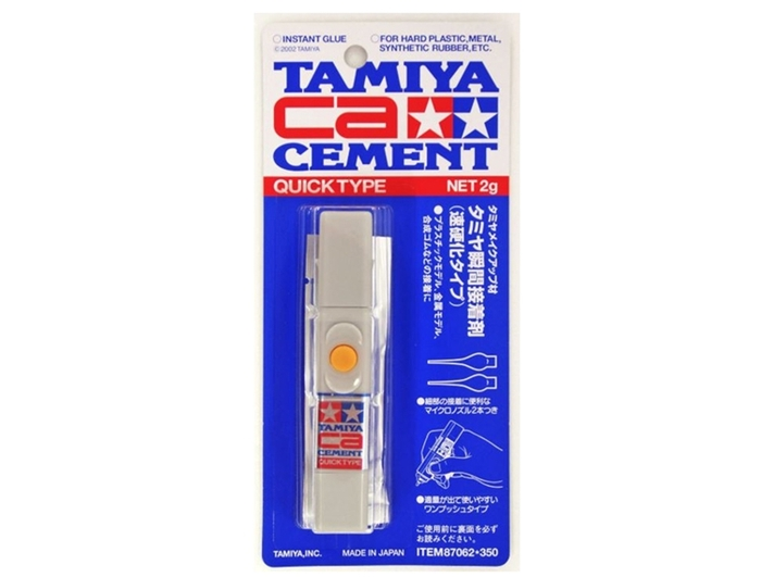 日本田宮TAMIYA|新式模型瞬間接著劑 ( 速硬化 ; 87062 )