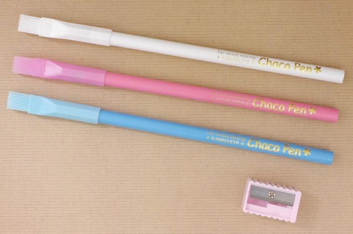 日本KAWAGUCHI|縫紉用粉土鉛筆 ( 3色 ; 19-271 )