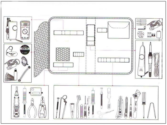 台灣Pro'sKit寶工|Apple授權維修中心用維修工具組 ( 1PK-ST23-1501 )