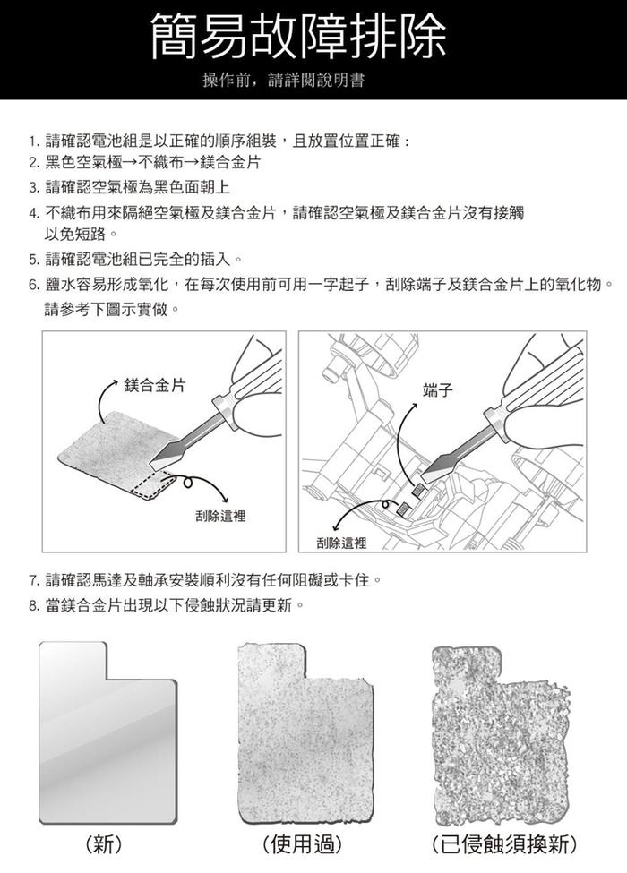 台灣Pro'sKit寶工|科學玩具GE-752用補充鎂片組 ( 5GE-752SP )
