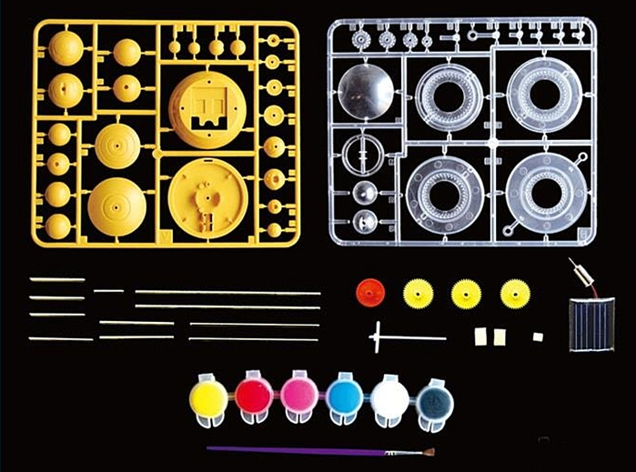 台灣Pro'sKit寶工|科學玩具 太陽能8大行星 ( GE-679 )