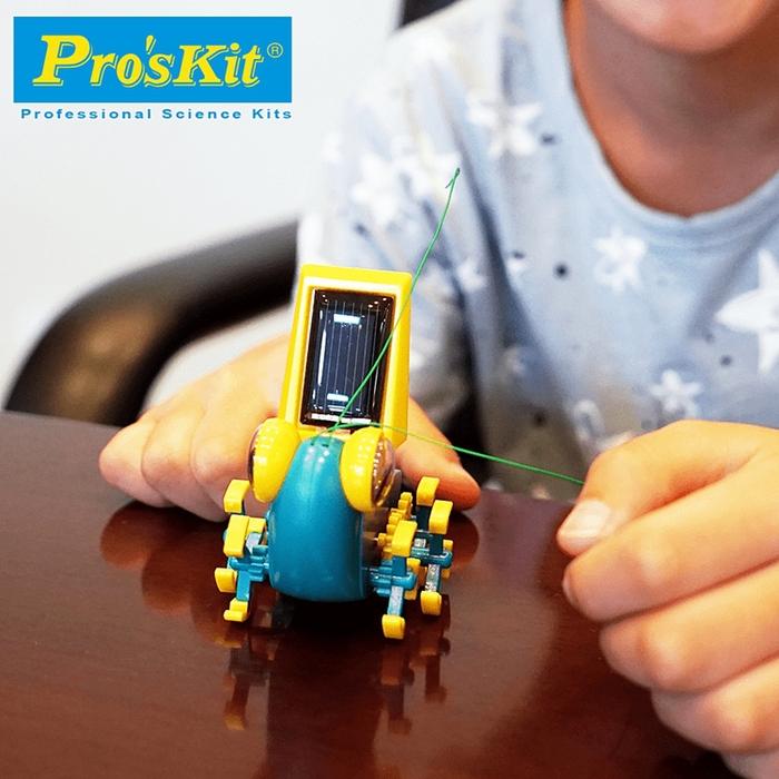 台灣Pro'sKit寶工|科學玩具太陽能大眼蟲 ( GE-683 )