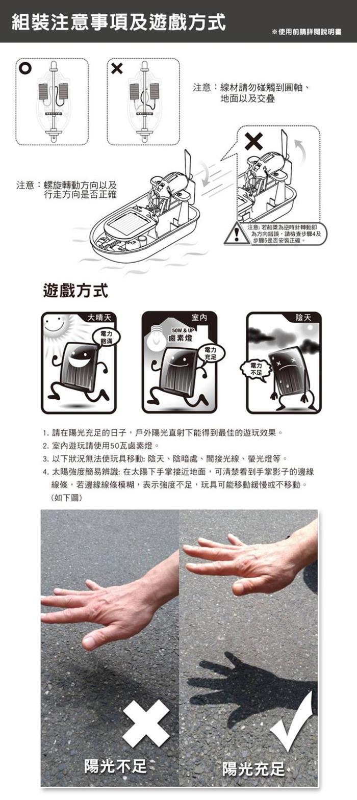 台灣Pro'sKit寶工|科學玩具6合1太陽能陸海空科學教育組 ( GE-610 )