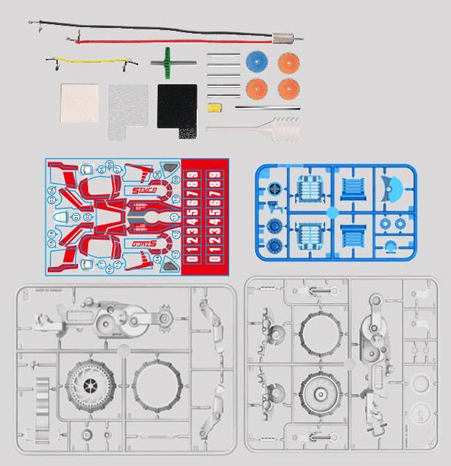 台灣Pro'sKit寶工|科學玩具鹽水燃料電池動力巡戈車 ( GE-753 )