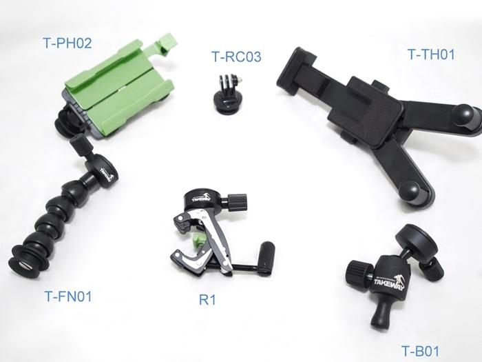 台灣製造TAKEWAY|鉗式腳架 ( R1 )