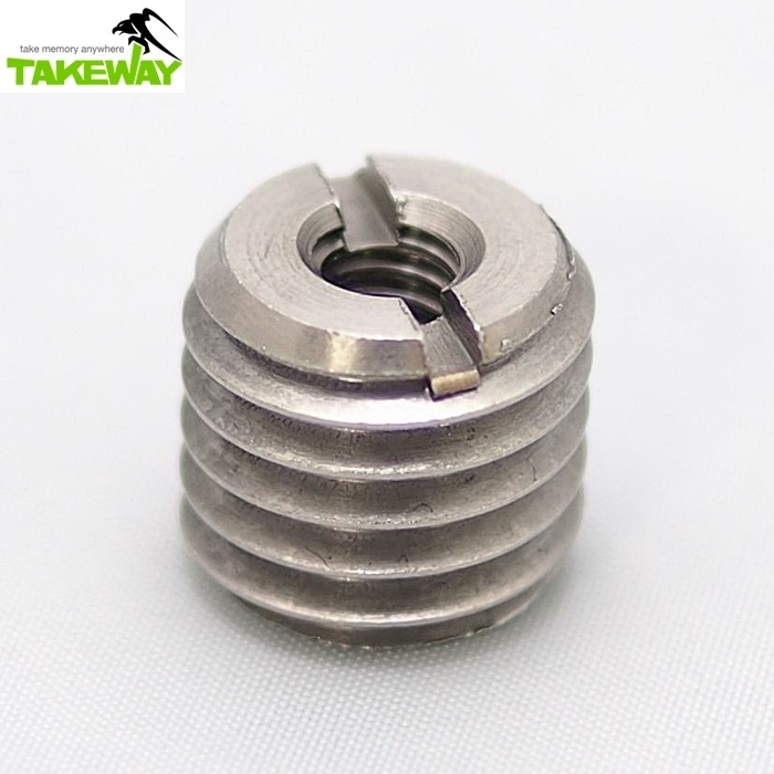 台灣製造TAKEWAY| 1/4→5/8轉接螺絲座 ( T-SA25 )