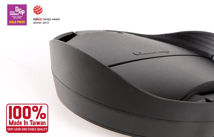 台灣HOOCAP|二合一鏡頭蓋兼遮光罩 ( 相容Canon原廠遮光罩ET-87和77mm鏡頭蓋 ; R8277C )
