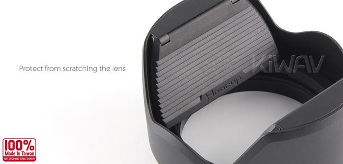 台灣HOOCAP|二合一鏡頭蓋兼遮光罩 ( 適口徑49mm的半自動鏡頭蓋 ; TM49 )