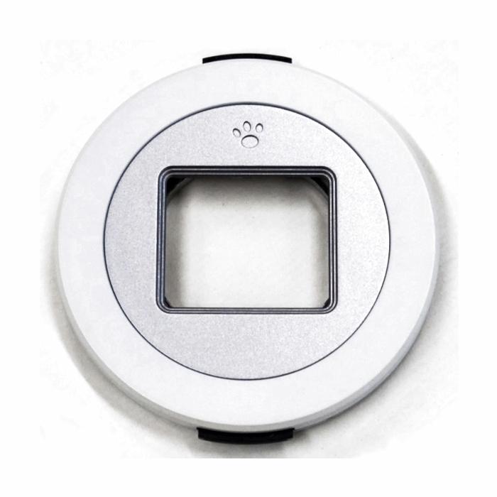 Freemod|自動鏡頭蓋賓士蓋 ( 適CANON佳能EF-M 22mm F2.0餅乾鏡 ; x-cap1(white+43-37) )