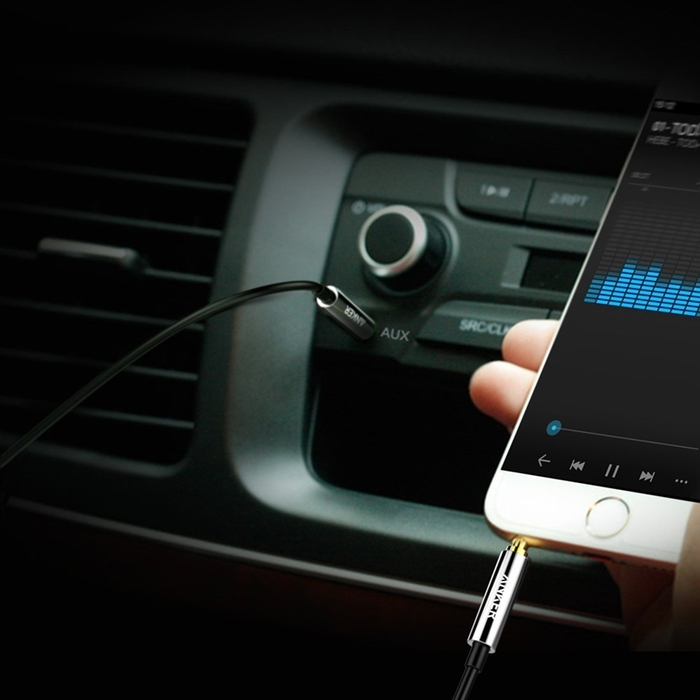美國Anker Premium Auxiliary 3.5mm耳機孔AUX-IN音源線 ( 黑色,8ft即240公分 ; A8220011 )