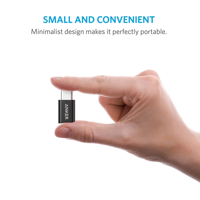 美國ANKER|Micro USB to USB-C轉接頭 ( B81740系列 )
