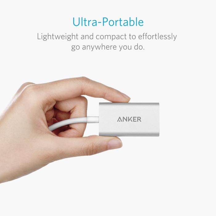 美國Anker|影音轉接線USB-C(Type-c) to HDMI轉接器 ( A8306041  )