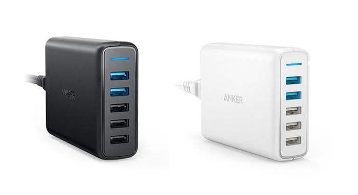 美國ANKER|PowerPort Speed 5孔Quick Charge3.0 63W充電器 ( A20545系列 )