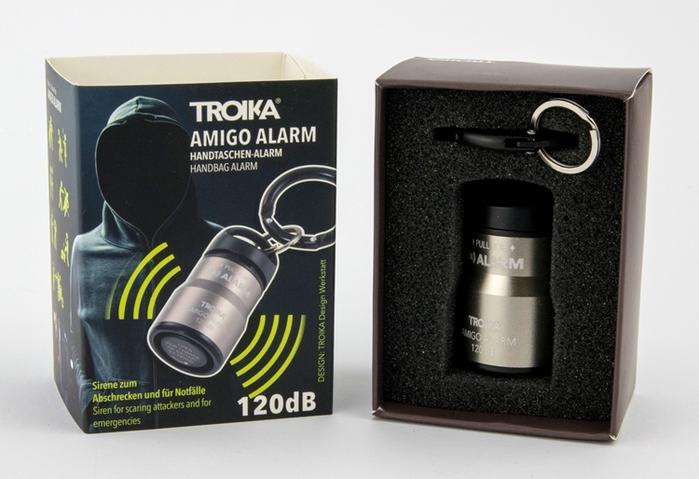 德國TROIKA 婦幼隨身警報器ALARM AMIGO拉環 ( BGA01系列)