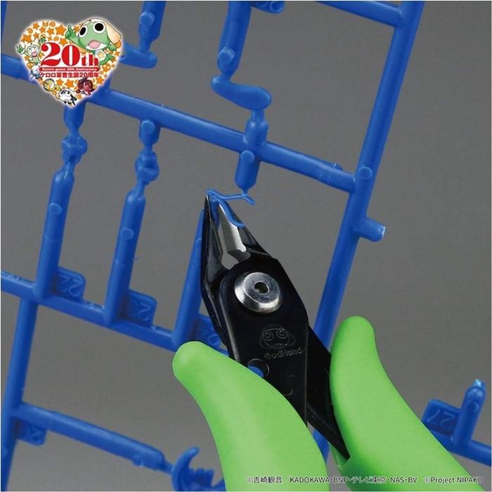 日本神之手GodHand|軍曹Keroro二十週年紀念版薄刃剪鉗模型斜口鉗 ( GH-PN-125-KR )
