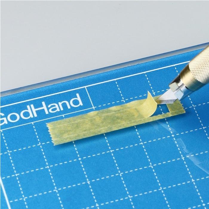 日本神之手GodHand|究極鋼化玻璃公仔模型美工切割墊 ( GH-GCM-B5-B )