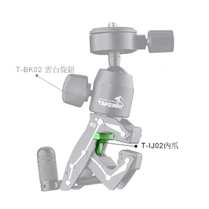 (複製)TAKEWAY|R1和R2鉗式運動夾的主體配件小內爪 ( T-IJ02 )