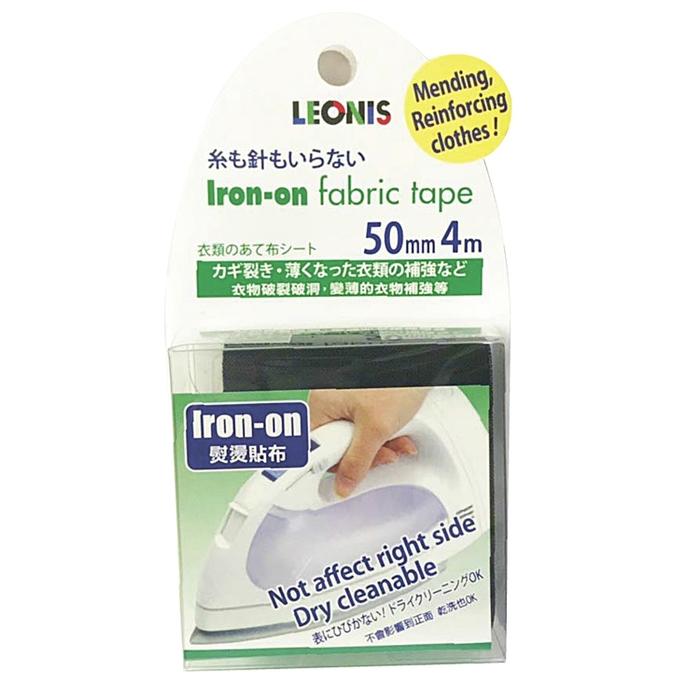 (複製)日本LEONIS|衣服褲子破洞修補強化貼燙斗布貼95921(寬10mmx長9m)