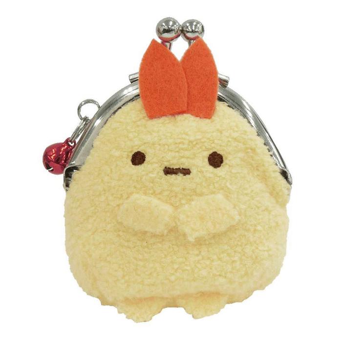 日本San-X|角落生物小零錢包口金包 ( 附鈴鐺/金屬環可掛鑰匙圈;SG-0031系列 )