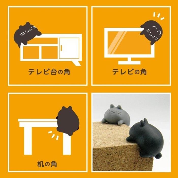 日本TOYO CASE|防尖角防撞桌角保護桌角 ( 日本平行輸入 ; CC-CAT系列 )