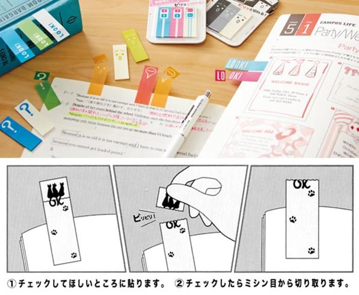 日本SUN-STAR|創意貓咪自黏便籤 (S2805340)
