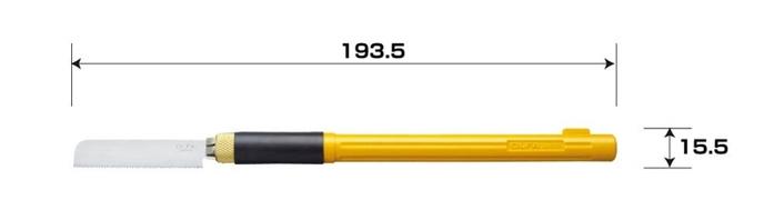 日本OLFA|筆型手鋸刀筆刀型模型鋸刀 ( 167B )