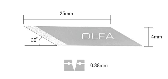 (複製)日本OLFA|筆型手鋸刀筆刀型模型鋸刀 ( 167B )
