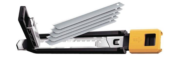 日本OLFA 五連發美工刀小型美工刀 ( (快速換刀片;品番191B MZ-S型;PA-2)