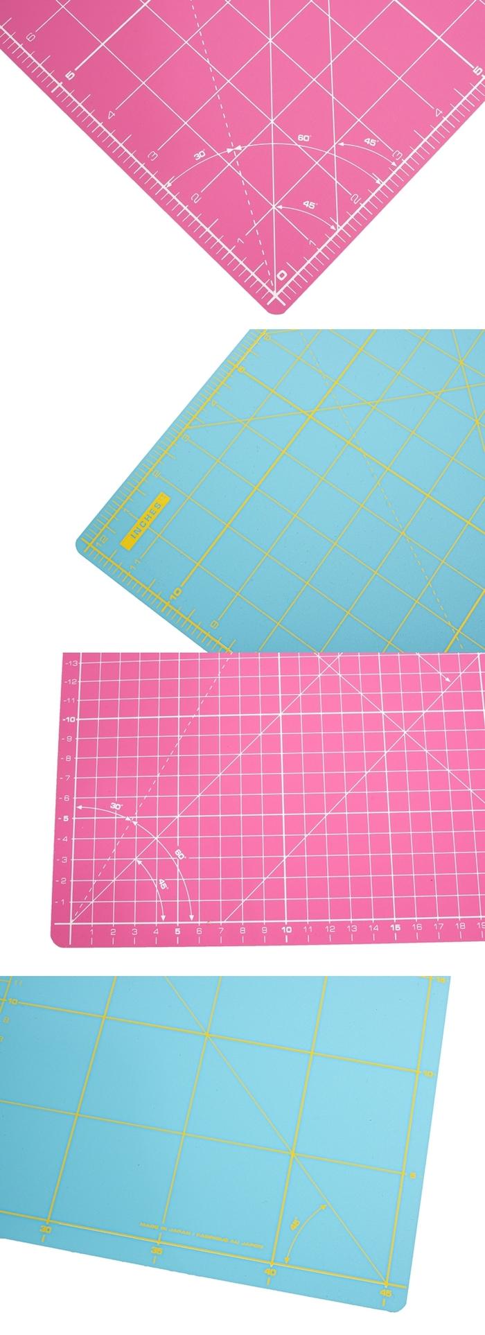 日本OLFA 雙色雙面拼布墊防滑裁切墊A3切割墊 (RM-IC-C系列)