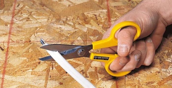 日本OLFA 防逃布剪刀防滑不鏽鋼剪刀 (SCS-2)