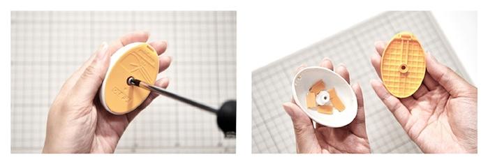 日本OLFA|兒童安全美工刀 (附拆刃器兼刀架;品番236BS;ESK-1)