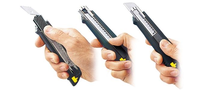 (複製)日本OLFA 小型美工刀小美工刀 (A型抗滑握把;替刃9mm;即日本型號170B;NA-1系列)