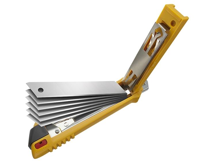 (複製)日本OLFA|小型美工刀小美工刀 (A型抗滑握把;替刃9mm;即日本型號170B;NA-1系列)