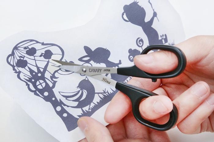 日本CANARY|極細剪刀尖嘴剪刀小剪刀尖頭剪刀 ( DSB-100 )