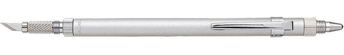 日本NT Cutter|多功能雙頭筆刀9mm金屬筆刀 ( D-1000P )