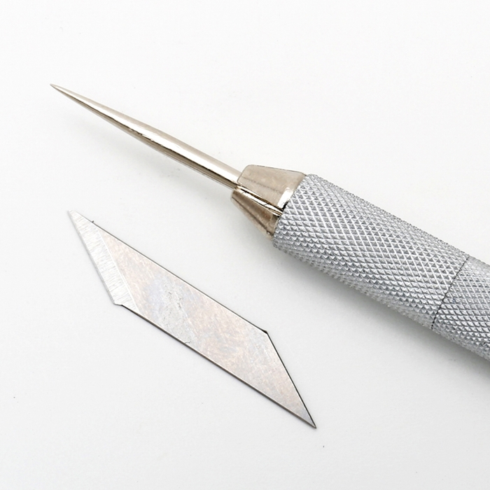 日本NT Cutter|金屬6mm細軸筆刀30度精密筆刀 ( DS-800P )