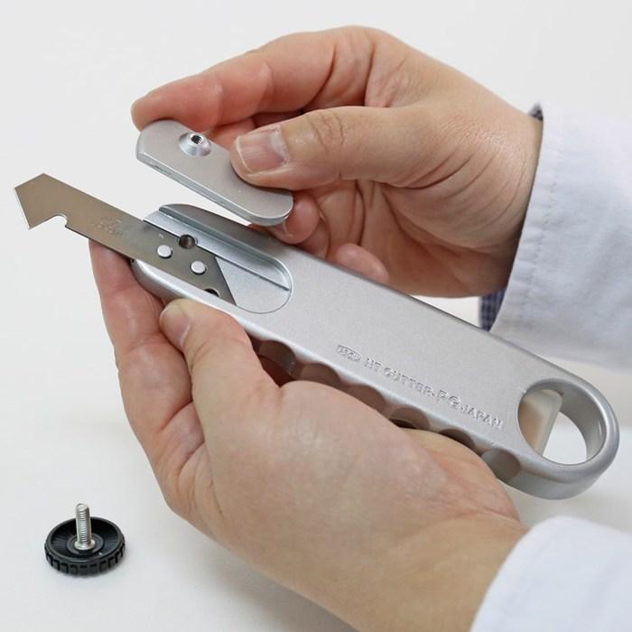 (複製)日本NT Cutter|大美工刀片黑色替刃 ( 12度超銳角高碳鋼黑刃;10枚入;BL13P )