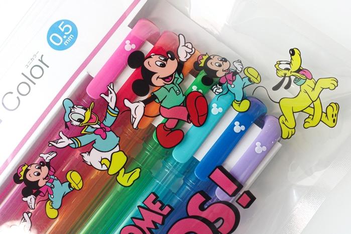 日本UNI|復古迪士尼DISNEY米奇米妮彩色自動鉛筆7色鉛筆組 (M5-152CDS 7C)