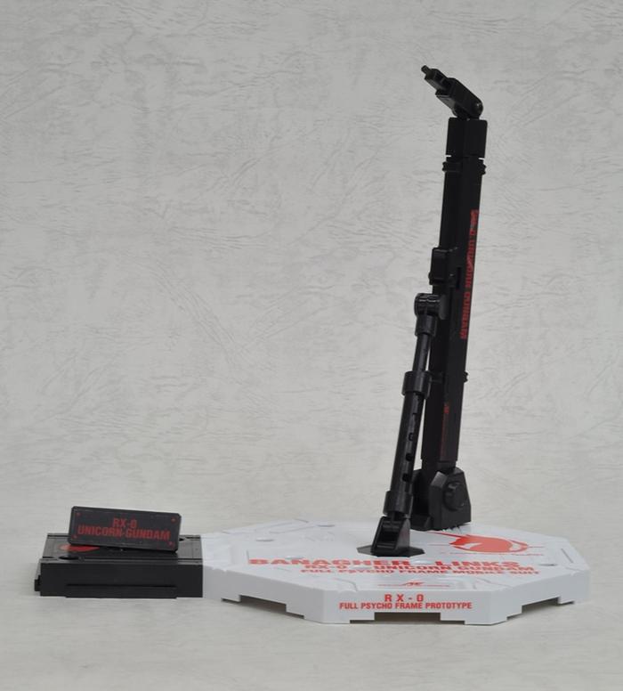 日本BANDAI萬代|鋼彈模型底座支架展示架 (ACTION BASE 1 UNICORN GUNDAM)