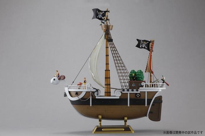 日本BANDAI萬代|海賊王ONE PIECE航海王前進梅莉號 (4543112655097)