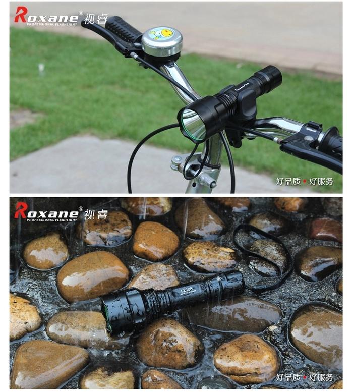 Roxane視睿|強光手電筒套組 (Cree XP-E R3;RX308)