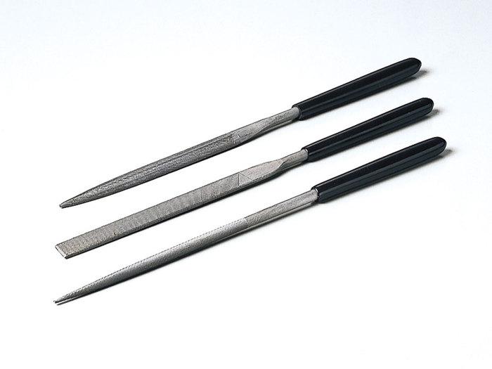 日本田宮TAMIYA|模型用精密挫刀3件組 ( 74046 )