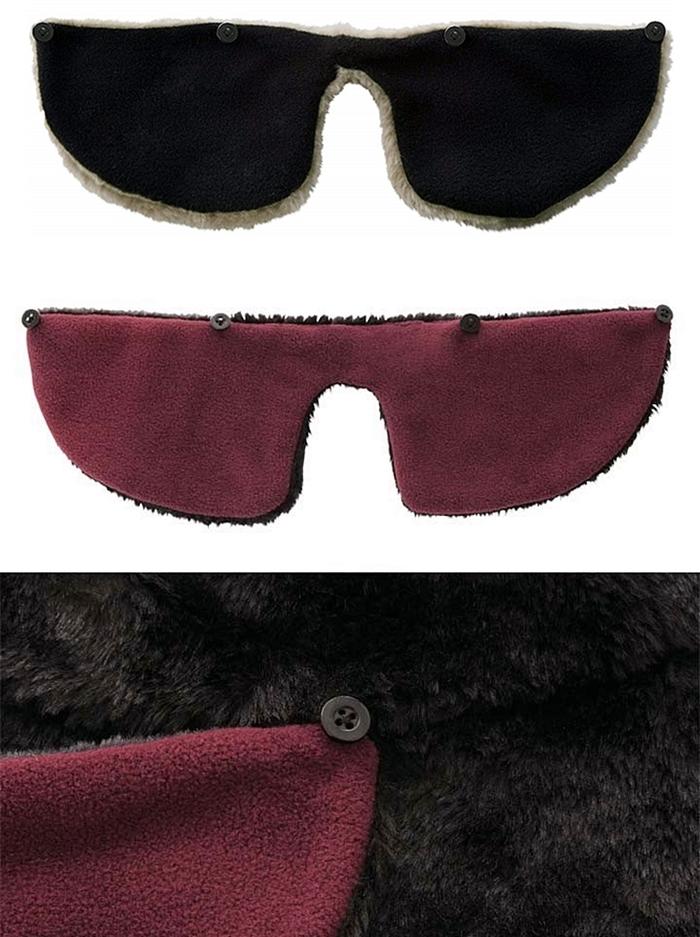 日本NEEDS|溫暖可拆卸護耳帽 (#6741系列 )