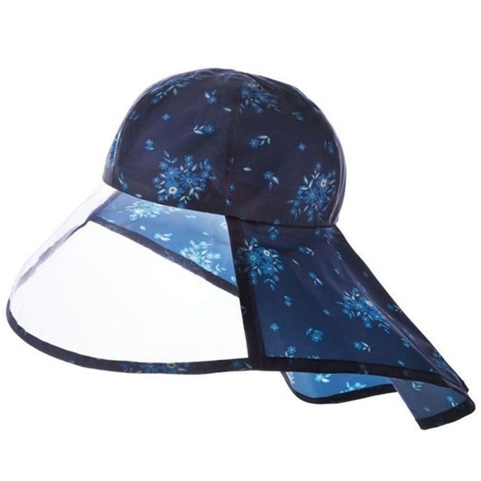 日本NEEDS|防水透明寬帽簷防雨帽防水帽子 ( #79909 )
