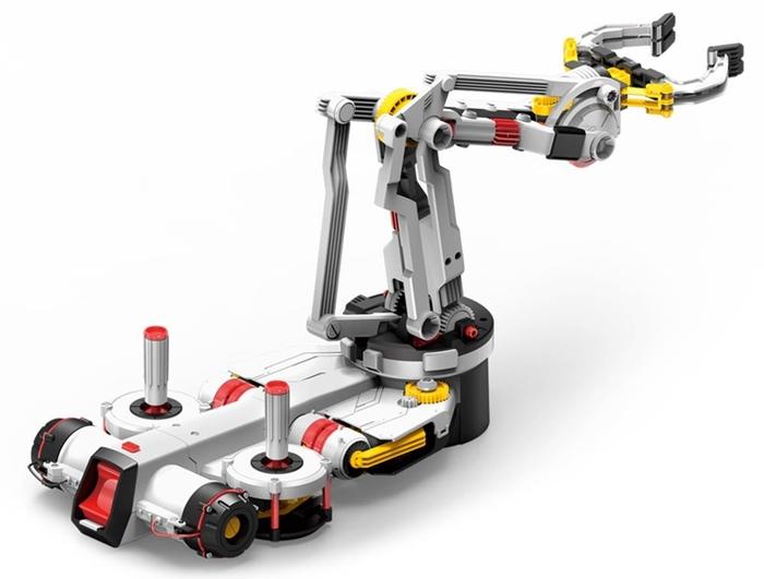 台灣Pro'sKit寶工 科學玩具八方全能遊戲搖桿控制機械動力爪 ( GE-537 )