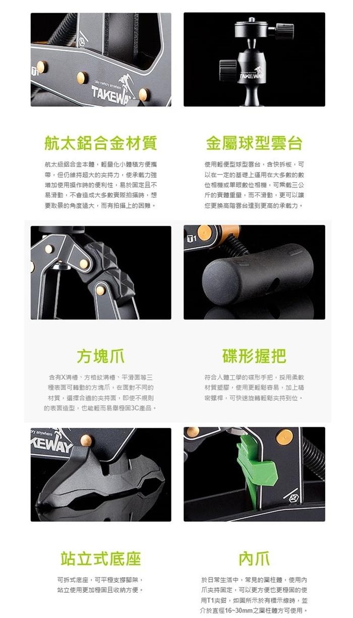 (複製)TAKEWAY|黑隼Z航太鋁合金重型機車手機座手機夾手機架 ( T-PH05 )