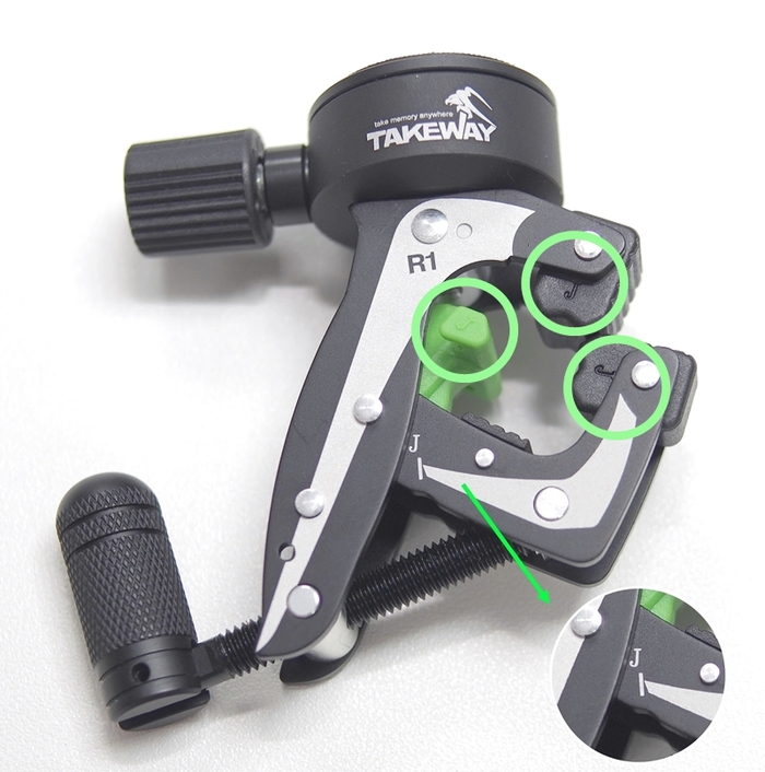 TAKEWAY|極限運動夾鉗式腳架 ( R1 mini )