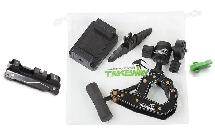 TAKEWAY|鉗式腳架 ( T1+ )