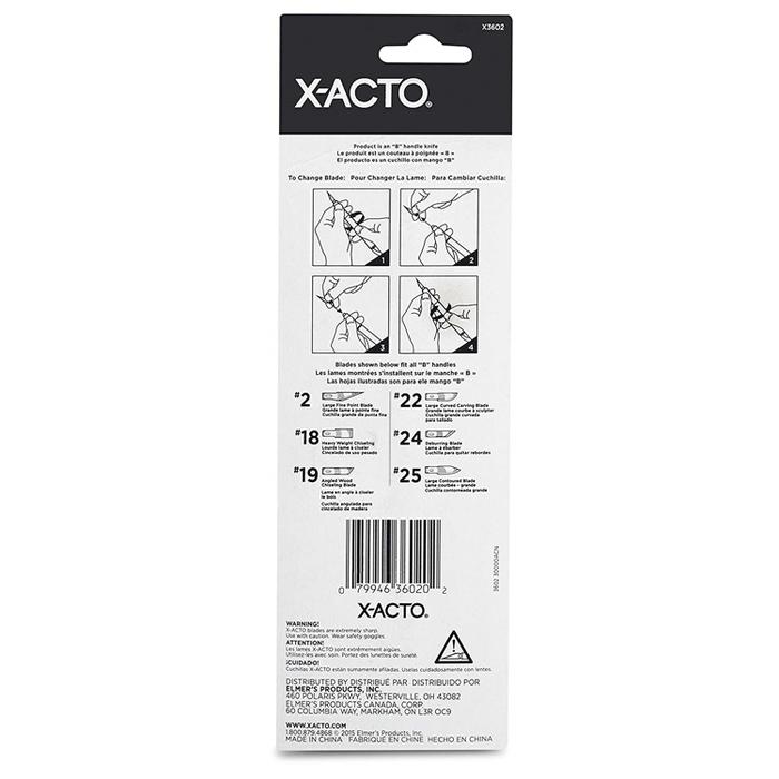 美國X-ACTO|金屬專業筆刀 ( X3602 )